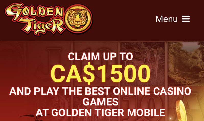 Golden Tiger Casino Erfahrung